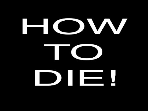 how to die is thinking about the stress one faces in life and means